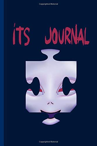 Its Journal: Small Alien, UFO and Space Themed Journal or Notebook, Makes a Perfect Gift for Alien Lovers 6x9 inch