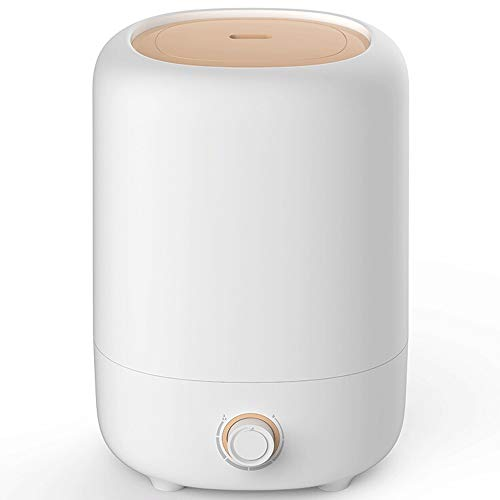 TaoTronics humidifier 5L Large Capacity Cold Mist Sprayer, Less Than 35dB Light Sound, Suitable for Large Bedroom Office White by TaoTronics