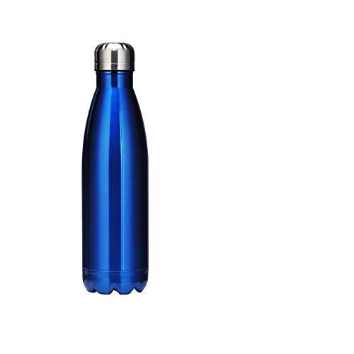 yywl Taza de viaje creativa, de acero inoxidable, termo deportivo, hervidor de agua al vacío, botella de cola, botella de cóctel