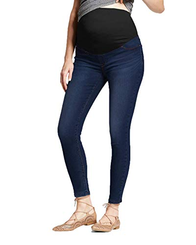Hybrid & Company Super Comfy Stretch vrouwen skinny moederschap Jeans, Bermuda, Capri