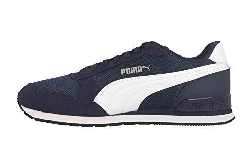 Puma St Runner V2 Mesh, Unisex-Erwachsene Sneaker, Blau (Peacoat-Puma White 03)
