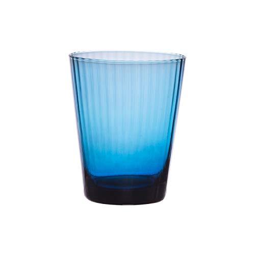 Table Passion - Verre venise bleu indigo 37 cl (lot de 6)