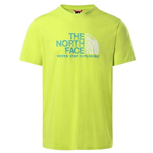 The North Face Camiseta para Hombre. S Verde L