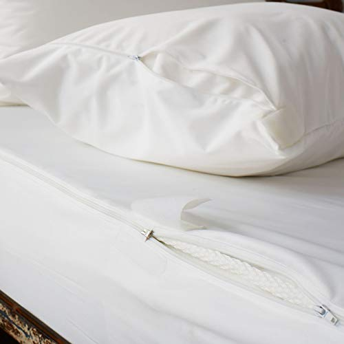 Soak&Sleep Ultimate Water Resistant Anti Bed Bug Mattress Encasement (Double)