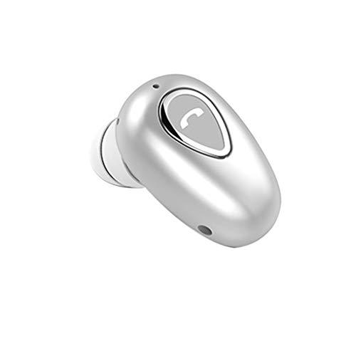 GFCGFGDRG Weilifang 1pc Bluetooth 4.1 Auricular Invisible en la Auricular Bluetooth Invisible en Oreja los Auriculares estéreo inalámbricos Mini micrófono Incorporado para Auriculares