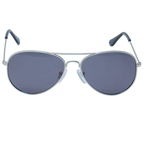 Knockaround Gafas de Sol Mile High Silver/Smoke Polarizada