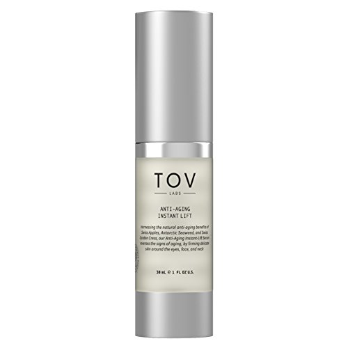 TOV LABS - Anti Aging Instant Lift Serum for Face, Eyes, and Neck (30mL) Vegan (TL-S203-30ML)
