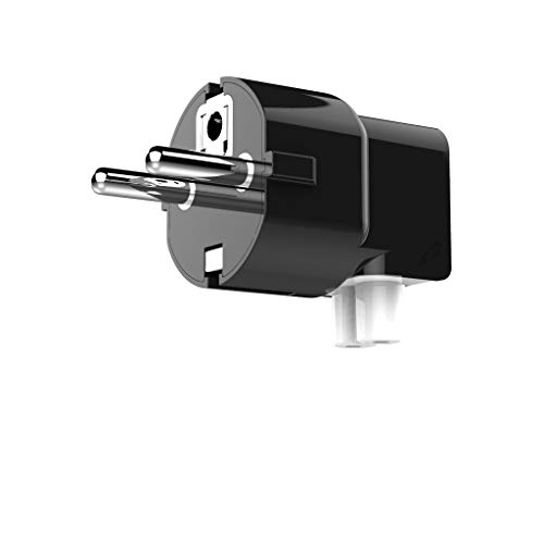 Doodle Plug - Grounded Plug for Apple Power Adapter (Apple Duckhead, Macbook, Macbook Air, Macbook Pro EU Duckhead) (Black)