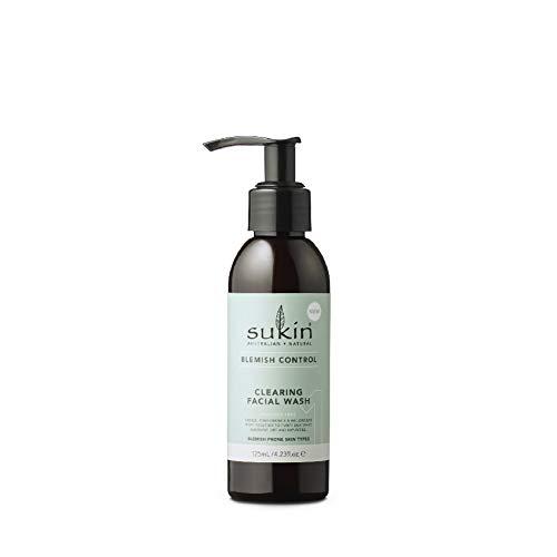 Sukin Blemish Control Clearing Facial Wash, 125 ml