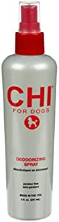CHI for Dogs Deodorizing Spray for Dogs | Best Odor Eliminating Spray for All Dogs & Puppies | Sulfate & Paraben Free, pH Balanced for Dogs, Made In the USA