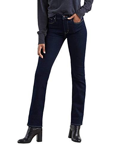 Levi's 724 High Rise Straight Vaqueros, To The Nine, 24W / 30L para Mujer