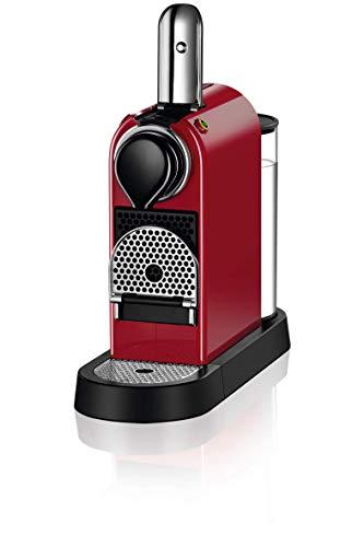 Nespresso XN7415 Roja EU, Acero Inoxidable, Citiz Granate: Amazon ...