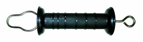 Göbel Porte Poignée Bayern avec œillet et ajustable à ressort en acier inoxydable Noir
