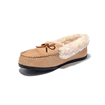 Amazon - Save 70%: JIUMUJIPU Women's Lndoor Shoes Moccasins Slippers