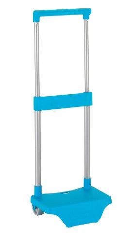 Safta Trolley für Schulrucksäcke, faltbar, leicht, widerstandsfähig mit ausziehbarem Griff und Rädern