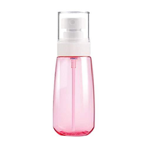 Meigold Sprühflasche klein Superfeine Sprühflasche Rosa transparente Sprühflasche Kosmetikflaschen Reiseverpackungsflaschen