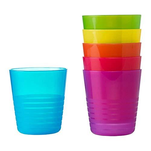 Modernes Design Verschiedene Farben Kunststoff Tassen, exklusiv für den täglichen Gebrauch und PARTEIEN