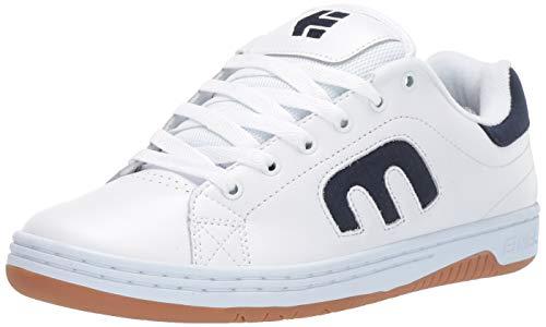 Etnies Men's Calli-Cut Skate Shoe White/Navy/Gum 4 Medium US