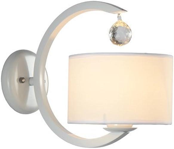 ZYY  Cristal Chaud Tissu Applique Moderne Créative Chambre Chevet Applique Murale De Chevet pour Simple Etude Chambre Salle à Manger Allée Mur Luminaire