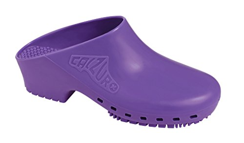 CALZURO Purple Without Upper Ventilation Holes - 36/37 US Women's 7.0-8.0 /.