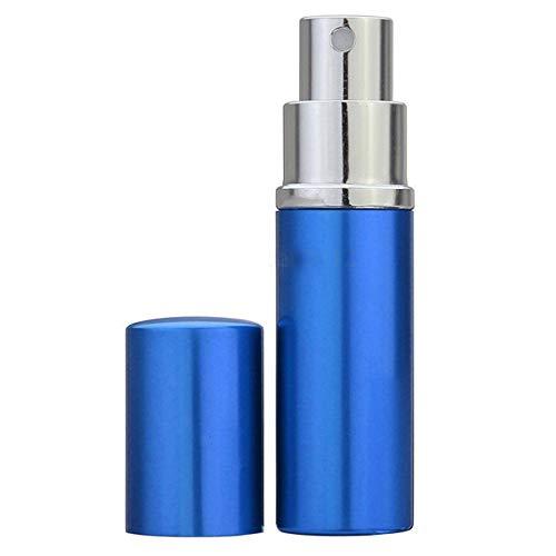 Vaporisateur de brume de parfum de lotion de lotion cosmétique portatif de récipient de maquillage portable (Color : Bleu)