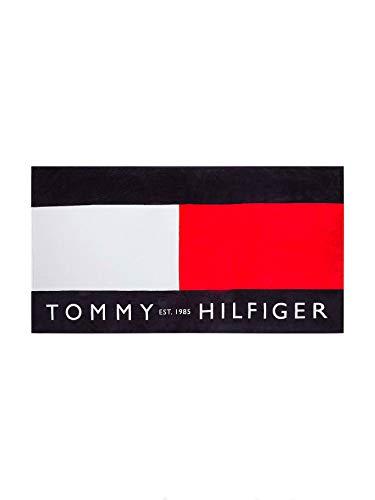 Tommy Hilfiger beachwear UU0UU00042 Accesorios de playa toalla de playa Unisexo Azul UNI