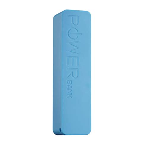 iTrek Portable Sleek 2000mah Emergency Charger Power Bank (Blue)
