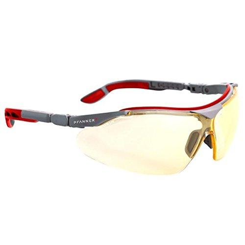 Pfanner Schutzbrille Nexus kratzfest und UV beständig, Farbe:gelb