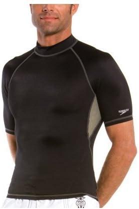 Speedo Men's Fastskin Short Sleeve Rashguard Swim Tee