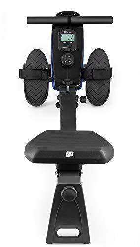 Hop-Sport Rudergerät Boost Ruderzugmaschine mit Computer & Magnetbremssystem blau Bild 4*
