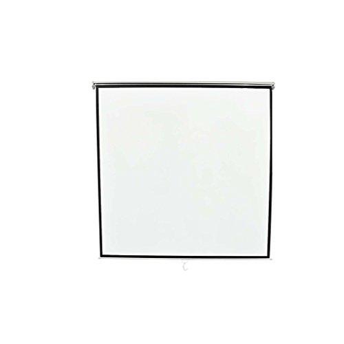 vidaXL Pantalla de proyección Manual 200x200 Montaje de Techo o ...