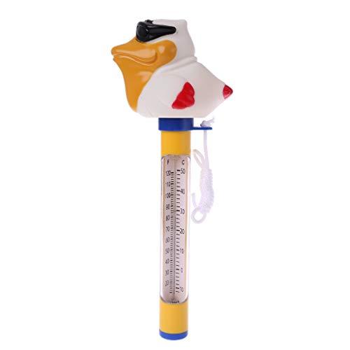 Qiman Niedliche Tier Schwimm Thermometer Für Outdoor & Hallenbäder Spas/Hot Tubs Pool Wassertemperatursensor