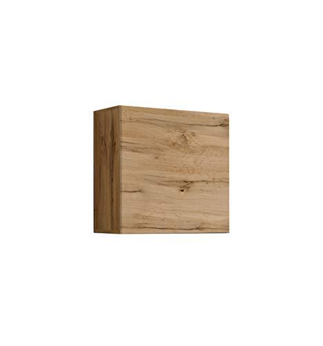 muebles bonitos Lettiemobili – Mobile pensile Verticale Berit 60x60 Rovere (Modulo Individuale)