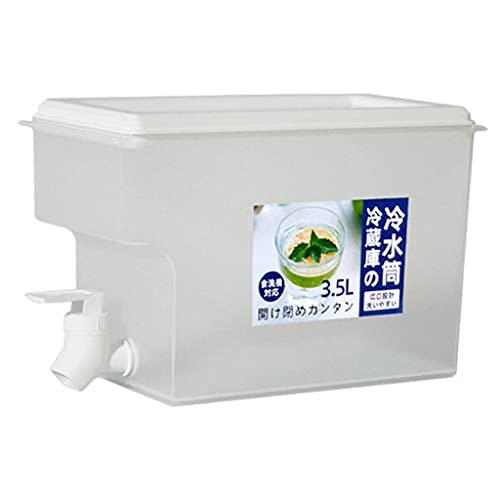 Amuzocity 1 Jarra de Agua 3,5 L para Té Helado Frío Y Caliente Jarra de Té con