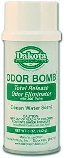 Dakota Odor Bomb Car Odor Eliminator - Ocean Water - 3 Pack