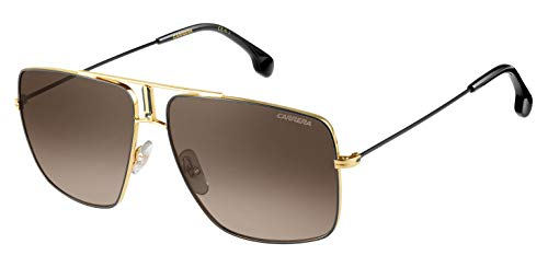 Carrera 1006/S HA 2M2 Occhiali da sole, Nero (Black Gold/Brwn Sf), 60 Uomo