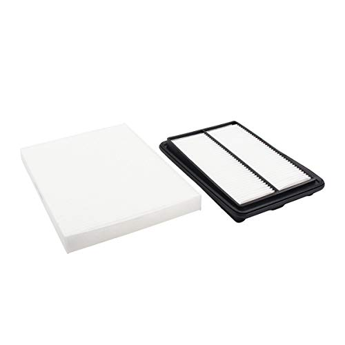 NewYall Pack of 2 Engine and Cabin Air Filter