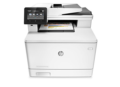 HP LaserJet Pro M477fdn All-in-One Color Laser Printer with Built-in Ethernet & Duplex Printing, Amazon Dash replenishment ready (CF378A)