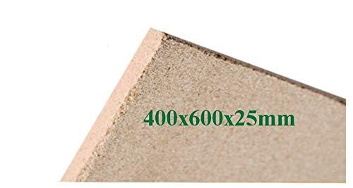 1x25mm Vermiculite Platte Brandschutzplatten 400x600x25mm Schamotte Ersatz
