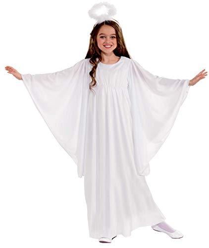 Forum Novelties Girl's Angel Costume, Large