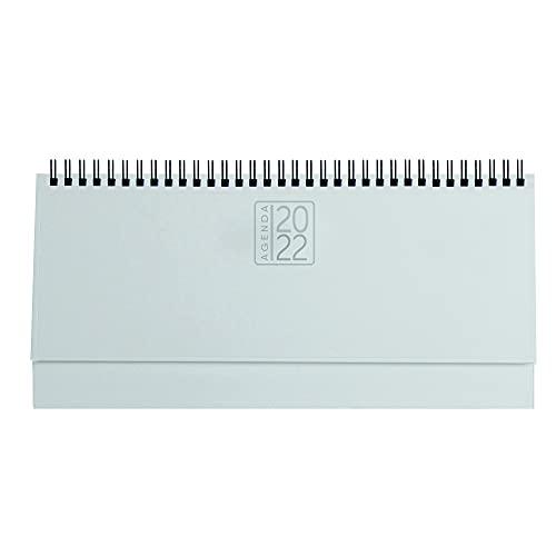 Planning agenda da tavolo 2022 settimanale spiralato AGENDEPOINT.IT 13x30 - bianco