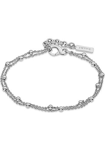 JETTE Silver Damen-Armband Lucky Charm 925er Silber One Size Silber 32010380