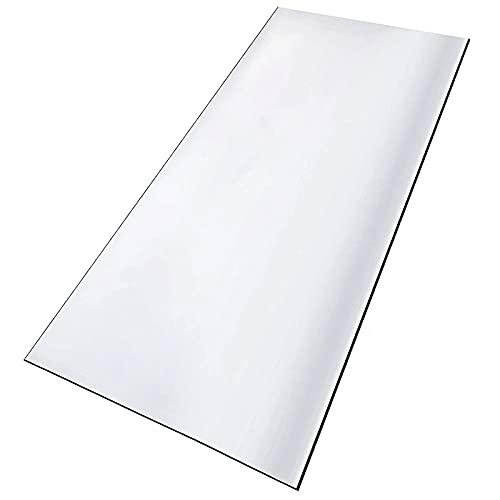 GUOTIAN Alfombrilla Transparente para Silla de 1,5 mm CLORURO DE POLIVINILO Protector de Suelo Duro Antideslizante Usado para el hogar Oficina de Mesa de Comedor,Clear1.5mm,100x140cm