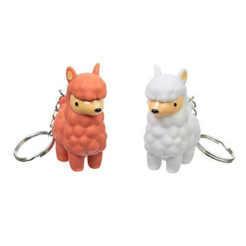 Funtime Gifts FU7360 PooPoo - Llavero, diseño de llama, multicolor