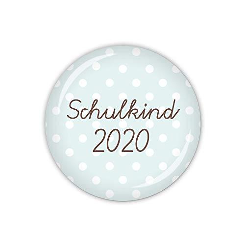 lijelove® PÜNKTCHEN Schulkind 2020 blau