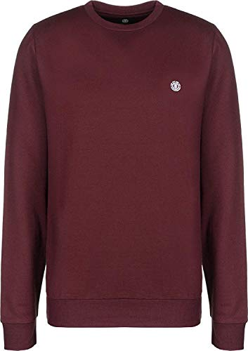 Element Cornell Classic CR, Sweatshirt Uomo, Port, M