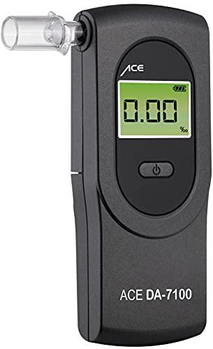 ACE DA-7100 - Alcoholímetro con Sensor electroquímico, Color Gris