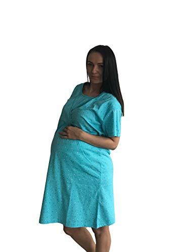 998 - Pijama de maternidad para mujer, talla L