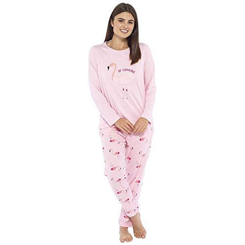 undercover lingerie Ladies Foxbury Flamingo Pyjamas LN1018 Pink 12-14