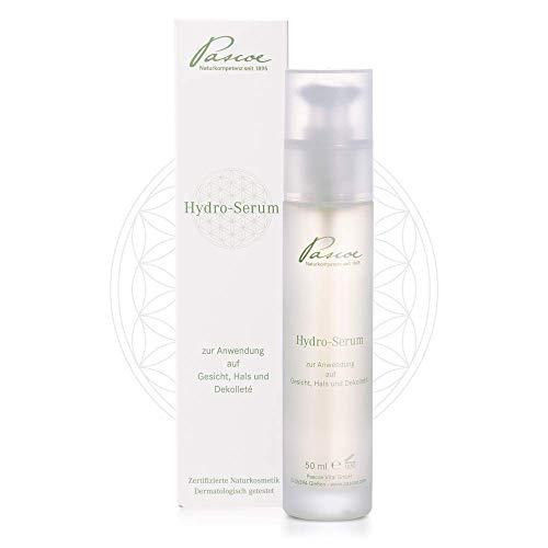 Pascoe® Hydro-Serum: Naturkosmetik - versorgt die Haut intensiv mit Feuchtigkeit - für eine ebenmäßige, strahlend schöne Haut - mit der Essenz aus 8 ausgewählten Pflanzen – Made in Germany - 50 ml